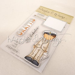 Clear Stamps - Studentkille / Student Boy