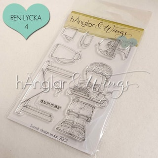 Clear Stamps - Fika-Fredrik