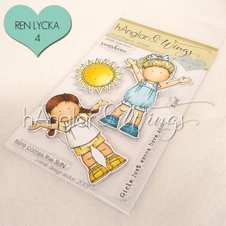 Clear Stamps - Sara och Margareta