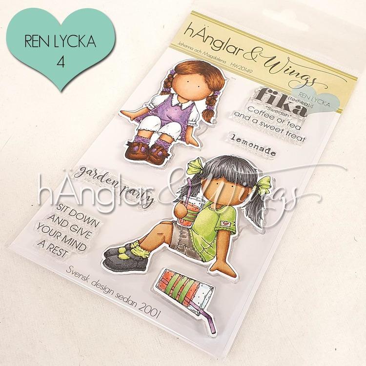 Clear Stamps - Johanna och Magdalena