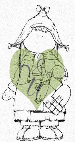 DIGI - Flicka med flätat hjärta