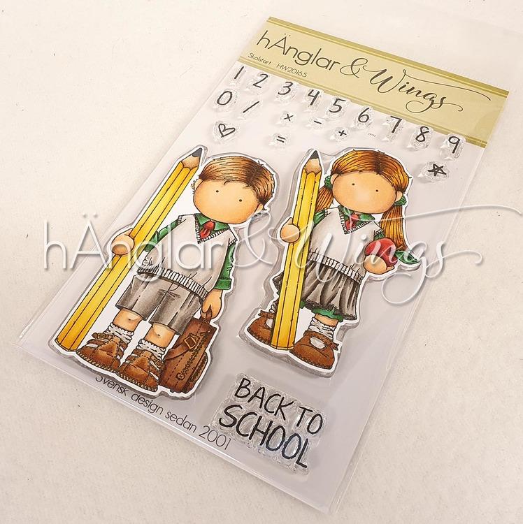 Clear Stamps - Skolstart