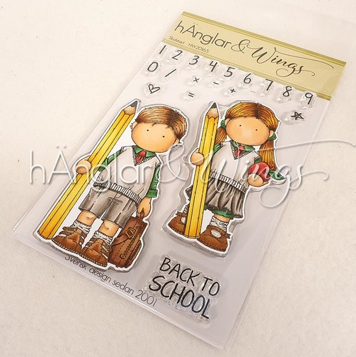 Clear Stamps - Skolstart / School start