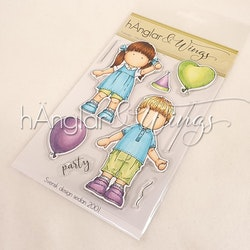 Clear Stamps - Kalasdax / Party time