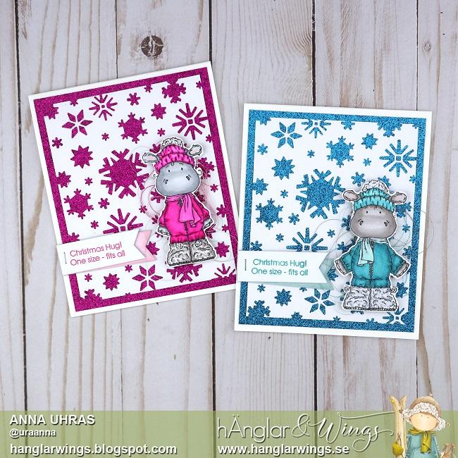 Clear Stamps - Harry och Hedvig i fjällen