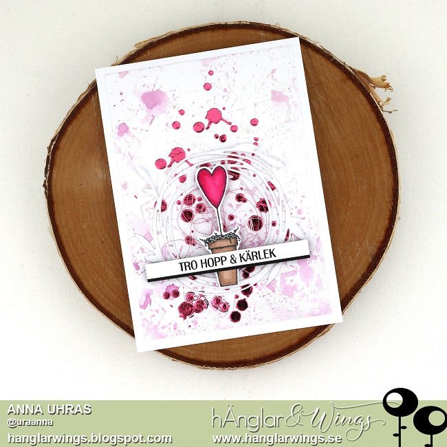 Clear Stamps - Hjärtan i Låda
