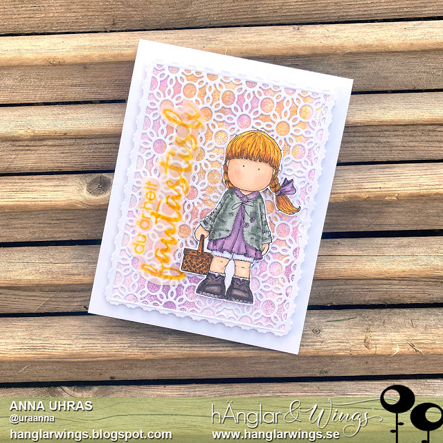 Clear Stamps - Korgflicka A7