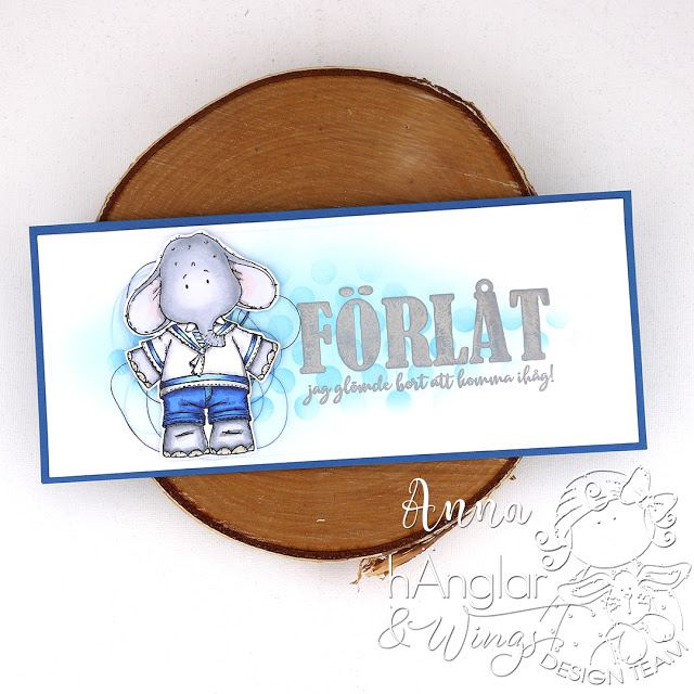 Clear Stamps - Stora Texter #4