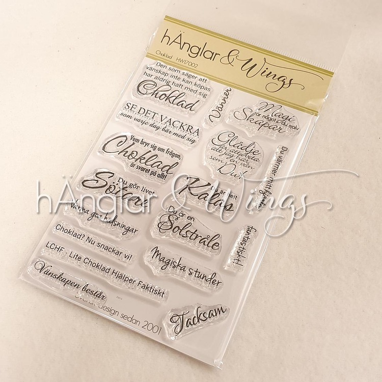 Clear Stamps - Choklad