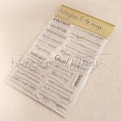 Clear Stamps - Viktigt  (kommer utgå!)
