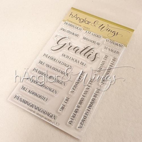 Clear Stamps - Grattiskombinationer