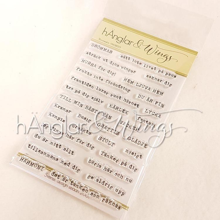 Clear Stamps - Skrivmaskin