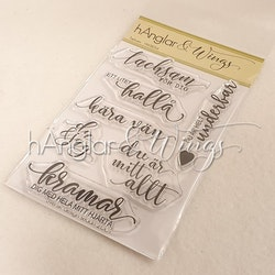 Clear Stamps - Tacksam