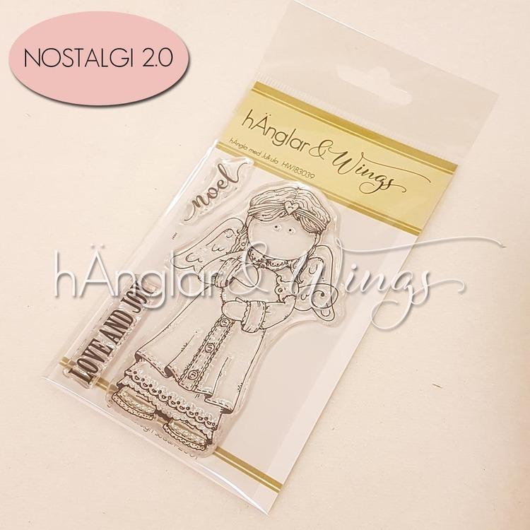 Clear Stamps - hÄngla med Julkula A7