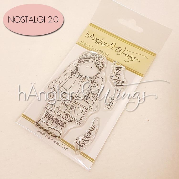 Clear Stamps - hÄngla med Lykta A7