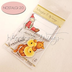 Clear Stamps - Lussekatt (Will be Retired)