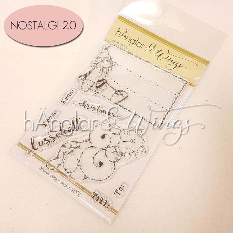 Clear Stamps - Lussekatt