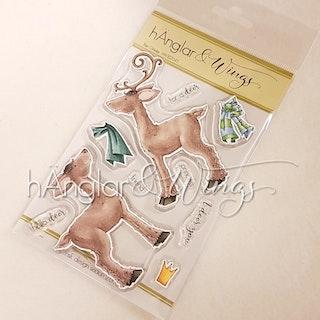 Clear Stamps - Ren Glädje / Pure (Deer) Happiness