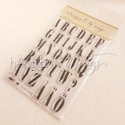 Clear Stamps - Alfabet / Alphabet