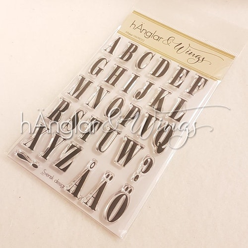 Clear Stamps - Alfabet / Alphabet