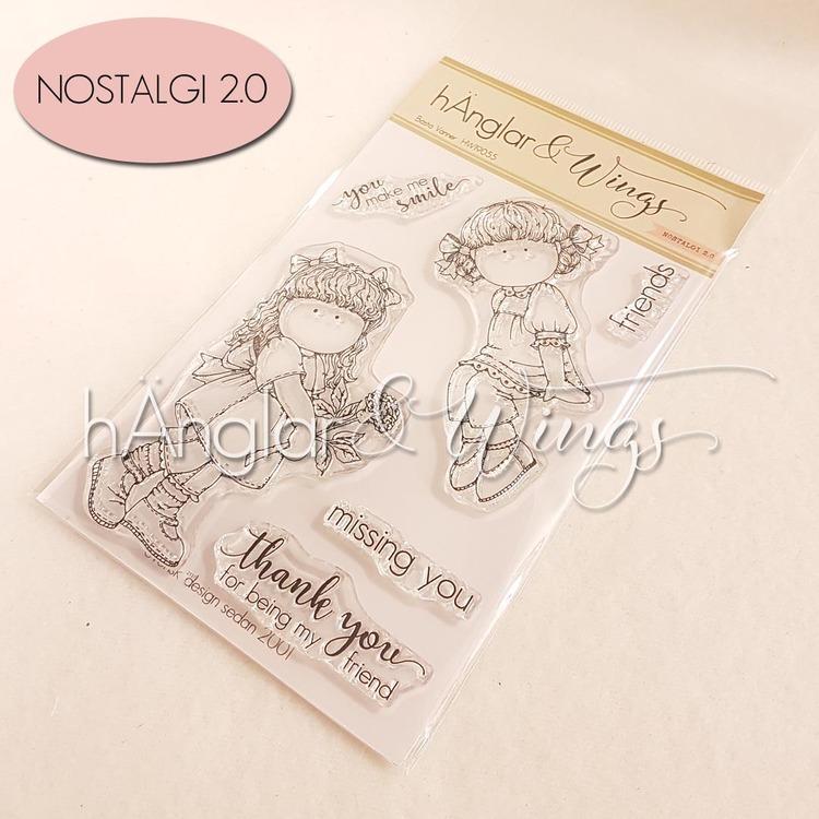 Clear Stamps - Bästa Vänner