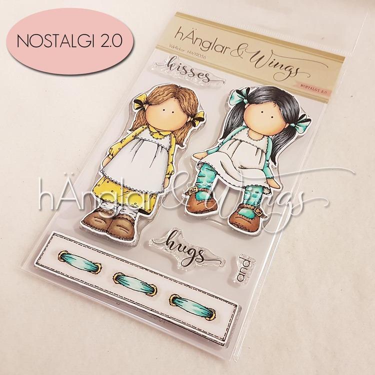 Clear Stamps - Vårflickor