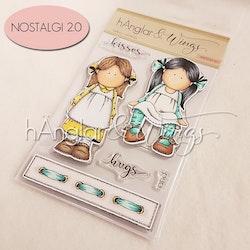 Clear Stamps - Vårflickor / Spring Girls