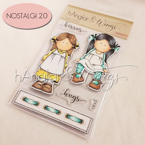 Clear Stamps - Vårflickor / Spring Girls
