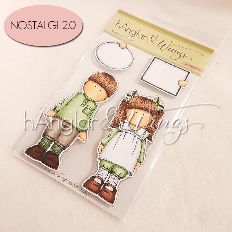 Clear Stamps - Meddelare / Messenger
