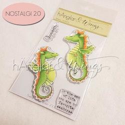 Clear Stamps - Sjöhästar / Seahorses