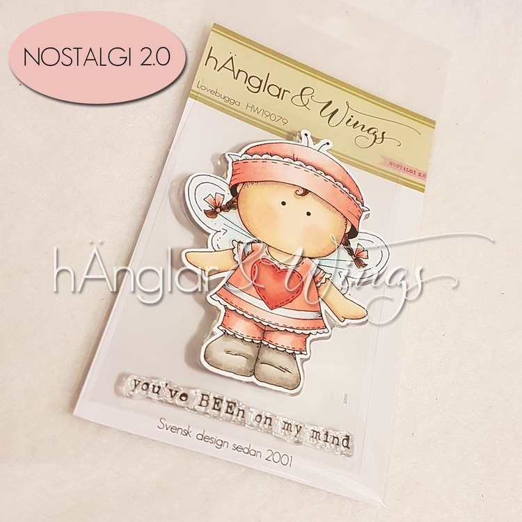 Clear Stamps - Lovebugga A7