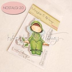 Clear Stamps - Sittande Larv / Sitting Larva - A7