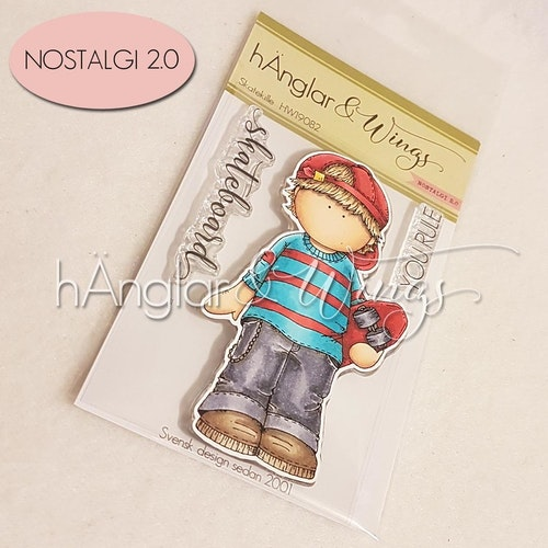Clear Stamps - Skatekille / Skate Boy - A7