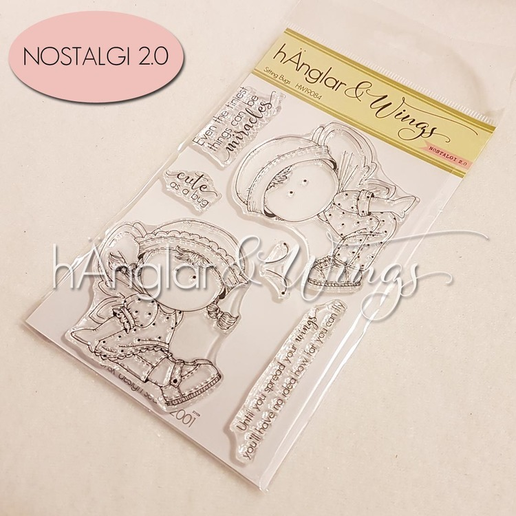 Clear Stamps - Sitting Bugs
