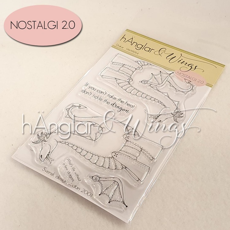 Clear Stamps - Drakar / Dragons