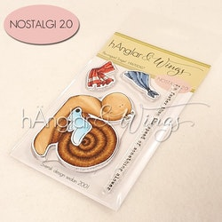 Clear Stamps - Bevingad Snigel A7