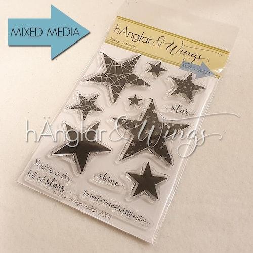 Clear Stamps - Stjärnor / Stars