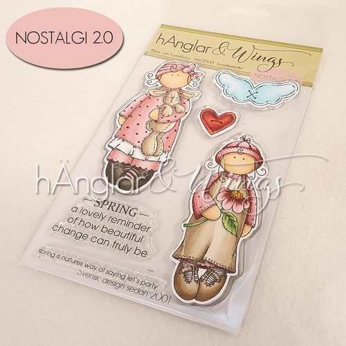 Clear Stamps - Blom- och Kaninflicka / Flower girl and Bunny girl