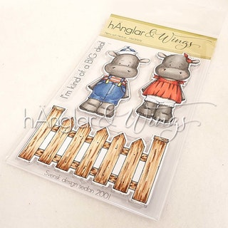 Clear Stamps - Harry och Hedvig