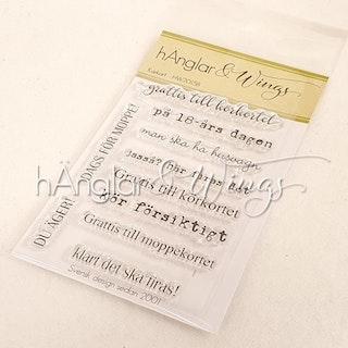 Clear Stamps - Körkort  A7