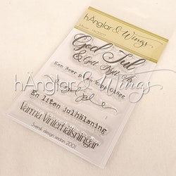 Clear Stamps - Jultexter / Christmas words A7