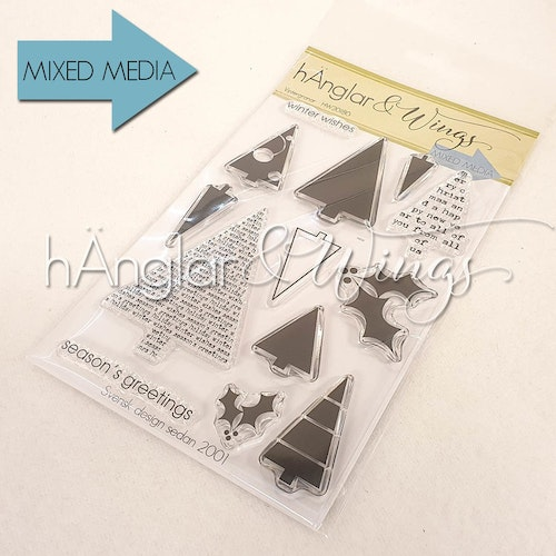 Clear Stamps - Vintergranar / Winter trees