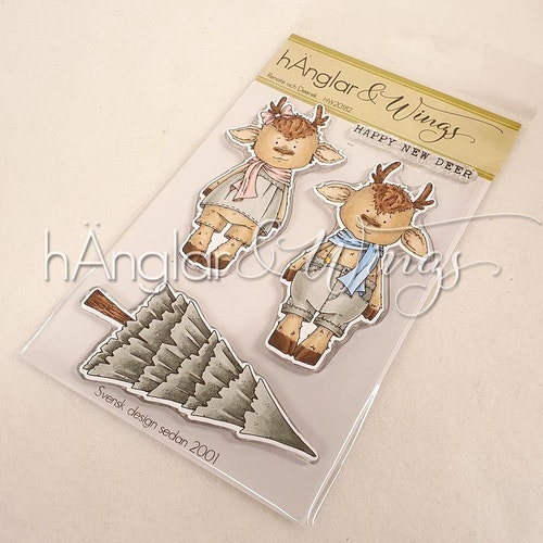 Clear Stamps - Renate och Deerek