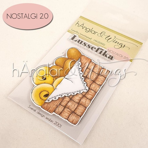 Clear Stamps - Lussefika / Lucia Fika -  A7