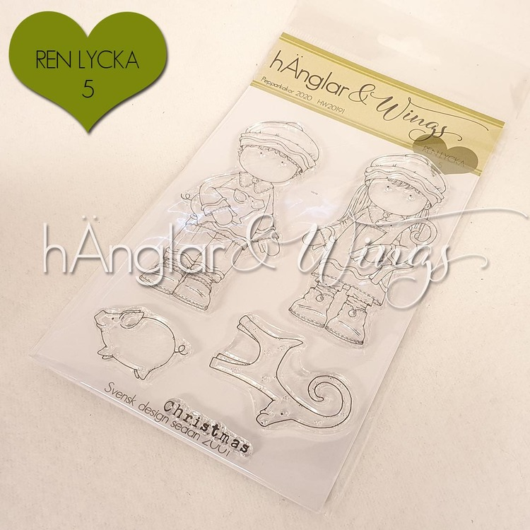 Clear Stamps - Pepparkakor 2020 / Gingerbread Cookies 2020