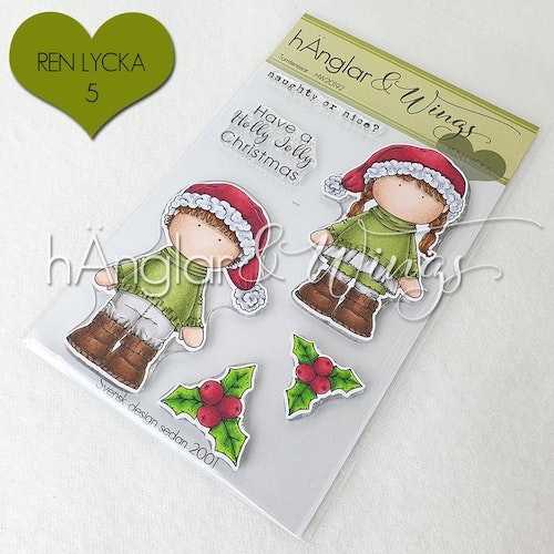 Clear Stamps - Tomtenissar / Santas helpers