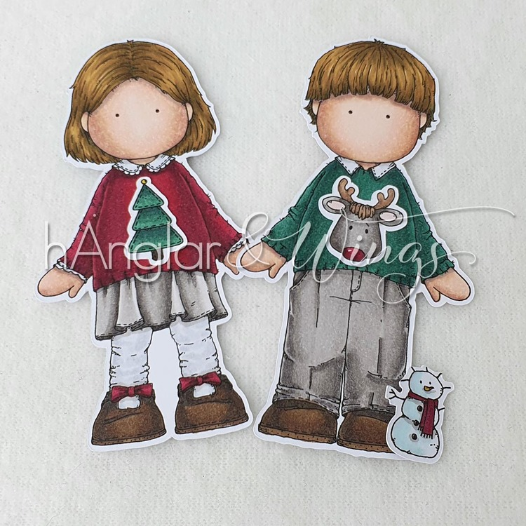 Clear Stamps - Ful Jultröja / Ugly Christmas sweater