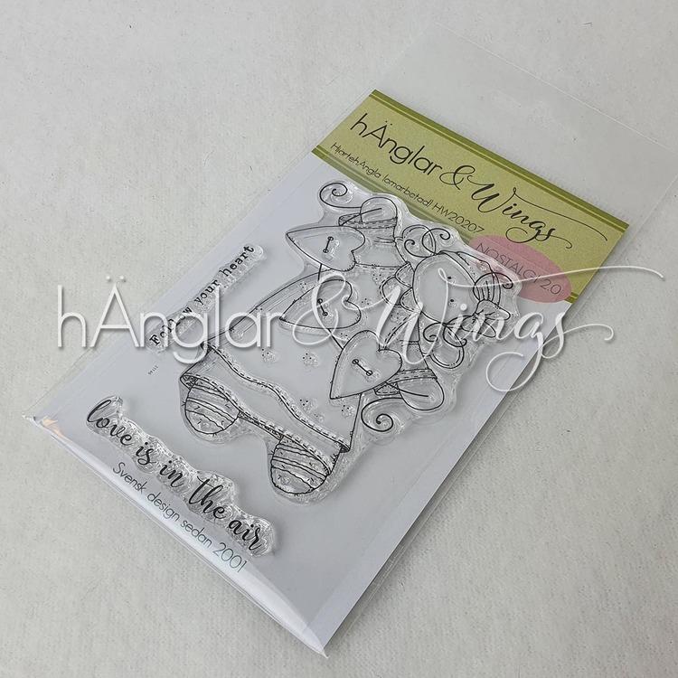 Clear Stamps - HjärtehÄngla  A7