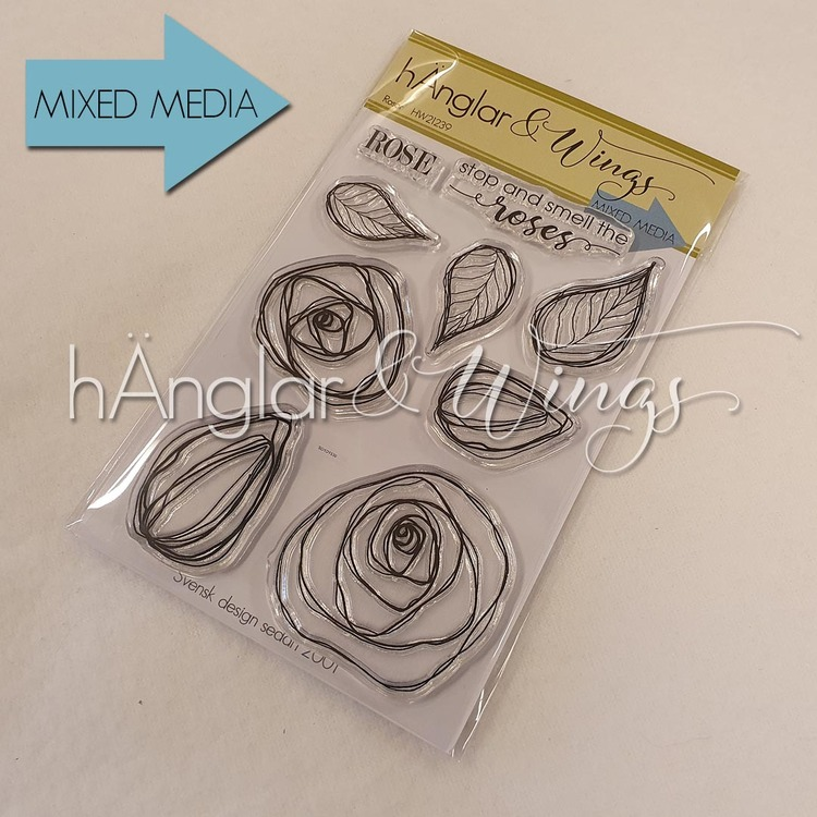 Clear Stamps - Rosor