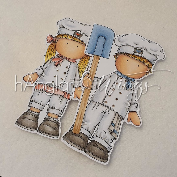 Clear Stamps - Bagare